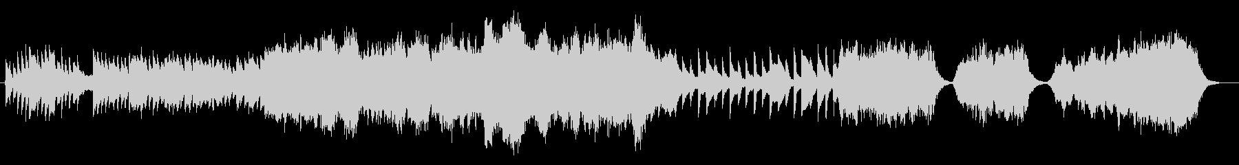 クラシック交響曲 劇的な 神経質 ...の未再生の波形
