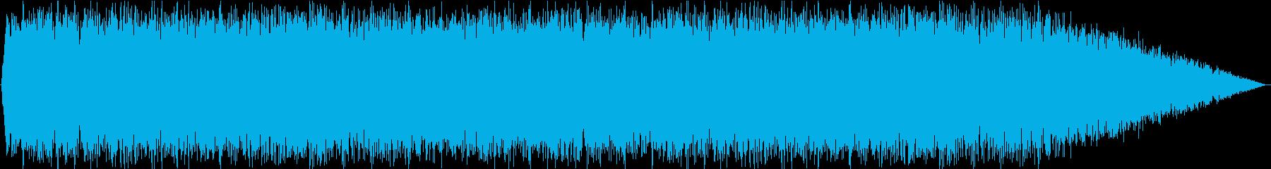 戦闘機の再生済みの波形