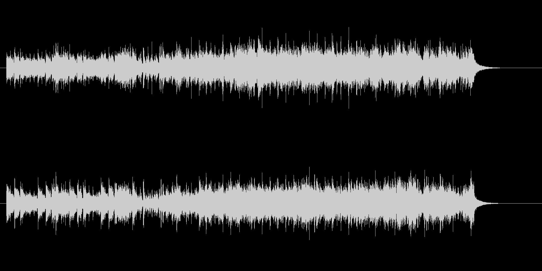 スピード感あふれるピアノ・ソロの未再生の波形