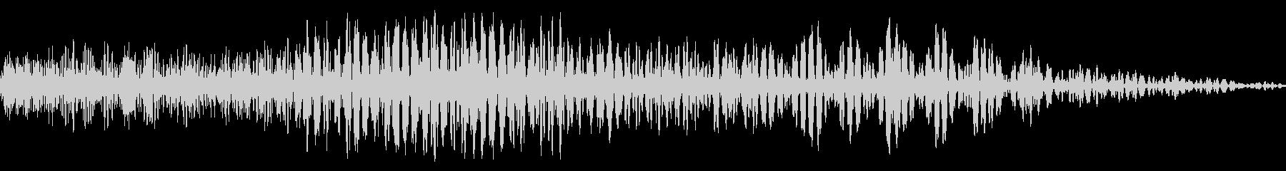メニュー画面音(ウインドウ,決定等)13の未再生の波形