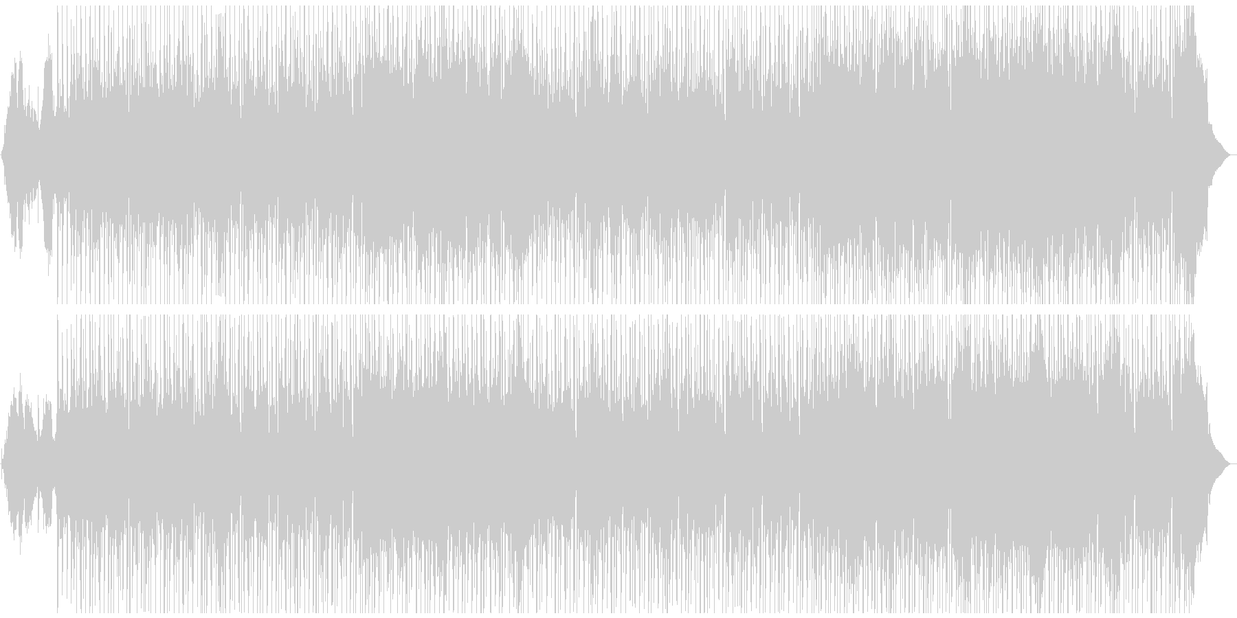 インド・東洋風チルアウトビートの未再生の波形