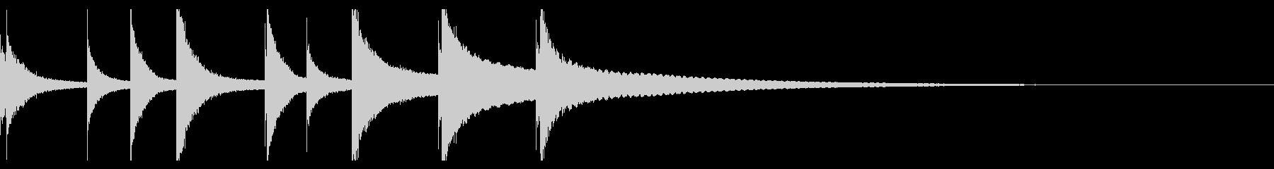オーケストラベルズ:ミュージックボ...の未再生の波形