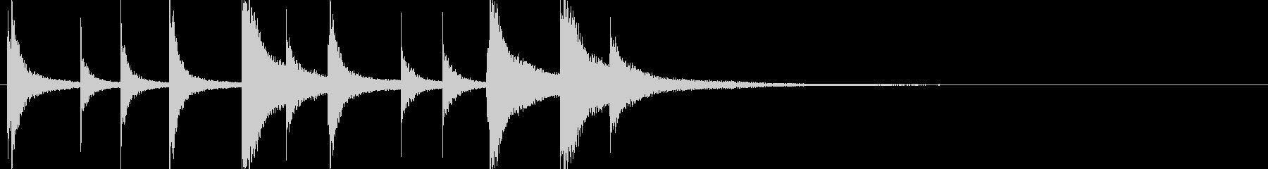 ドラム/ティンバレス フィルイン 26の未再生の波形