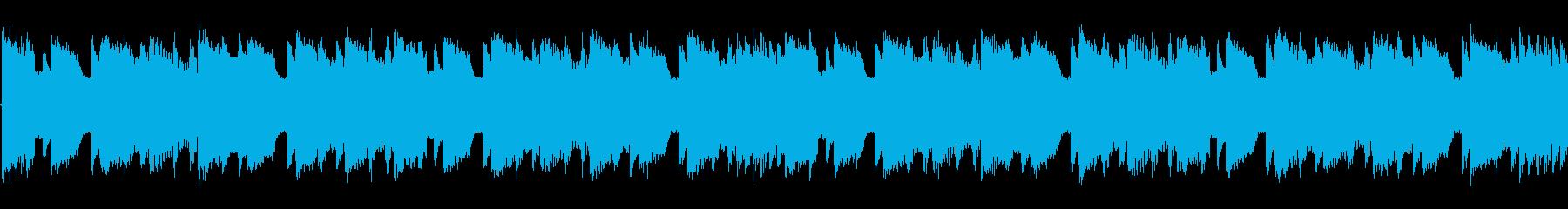 チップチューンの軽快な短いループ4の再生済みの波形