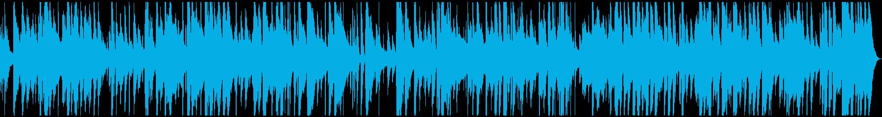 スチールドラムとギターのゆったりレゲエの再生済みの波形
