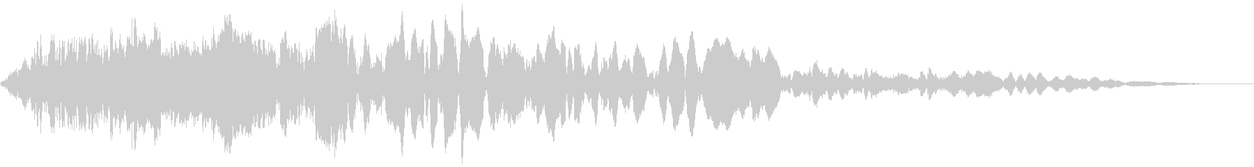 車 レース ブレーキ/タイヤスキール音5の未再生の波形