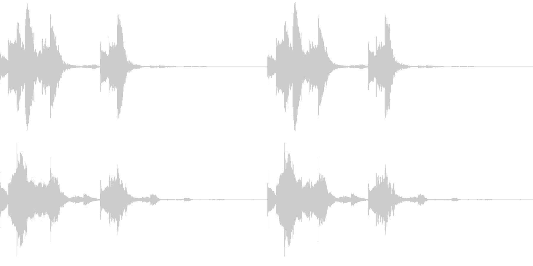 Tech テクノフレーズ 2 音楽制作用の未再生の波形