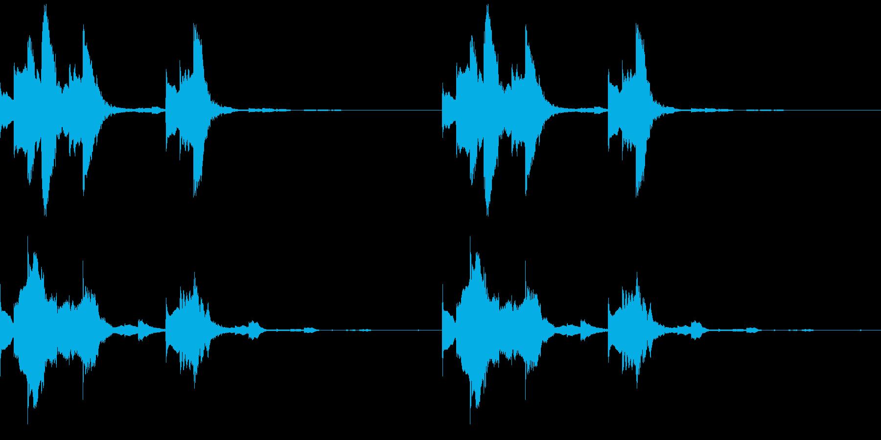 Tech テクノフレーズ 2 音楽制作用の再生済みの波形