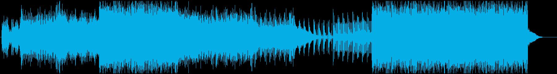 近未来を意識したEDM/Tranceの再生済みの波形