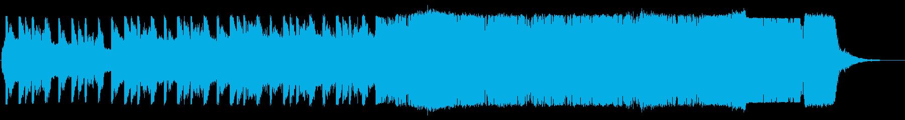 バラエティ/明るい/ノリノリ/軽快ロックの再生済みの波形