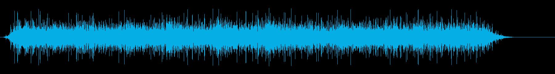 花火と賑やかな声の再生済みの波形