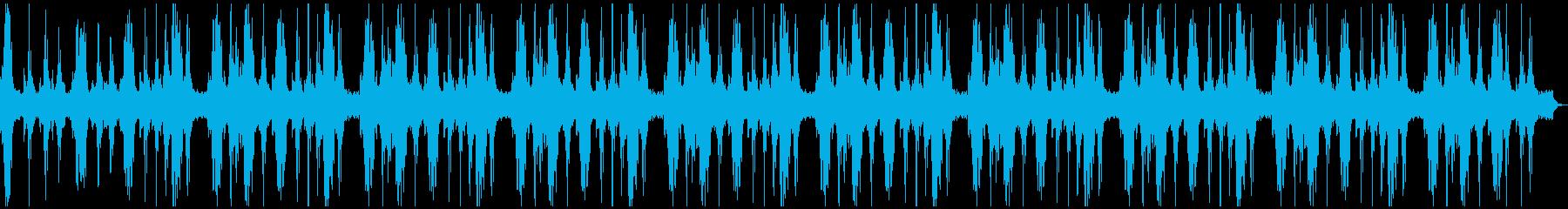 不気味、静けさ、不安、ホラー、10分の再生済みの波形