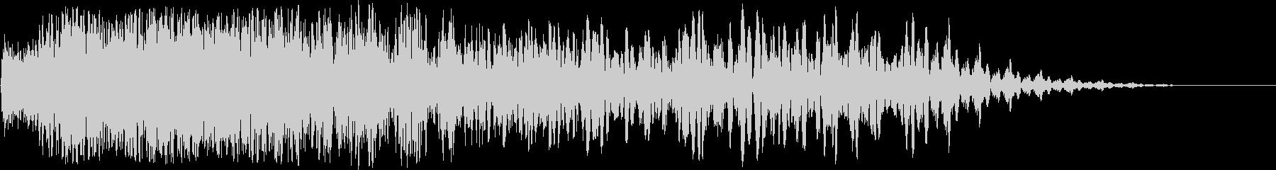 ヘビーインノイズディレイ2の未再生の波形