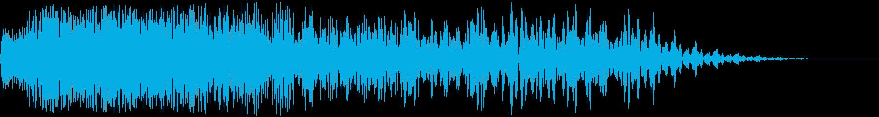 ヘビーインノイズディレイ2の再生済みの波形