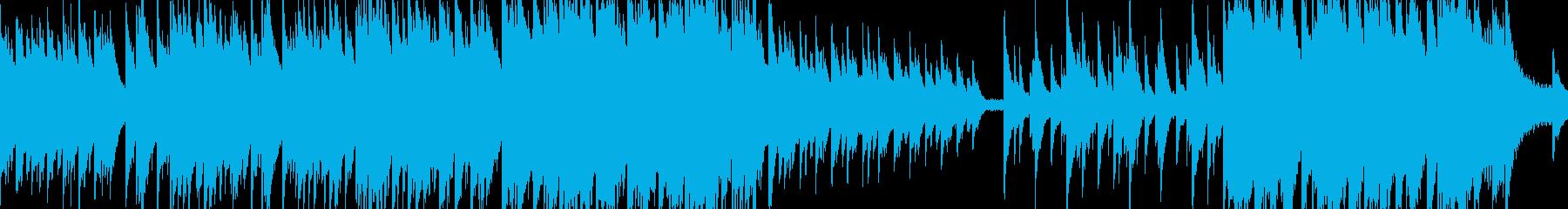 綺麗なピアノソロBGM ループ版の再生済みの波形