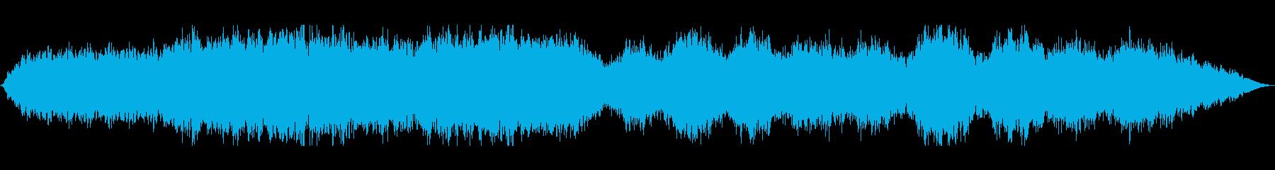 天国の合唱団ドローンの再生済みの波形