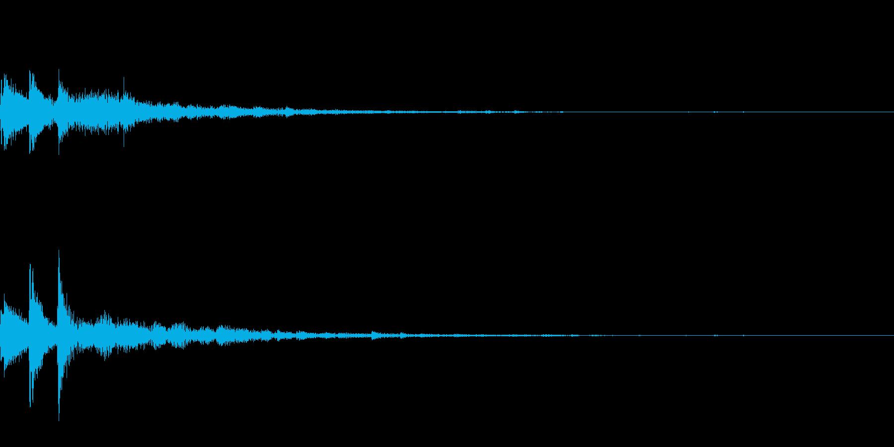 ぽろん♪(連鎖05)の再生済みの波形