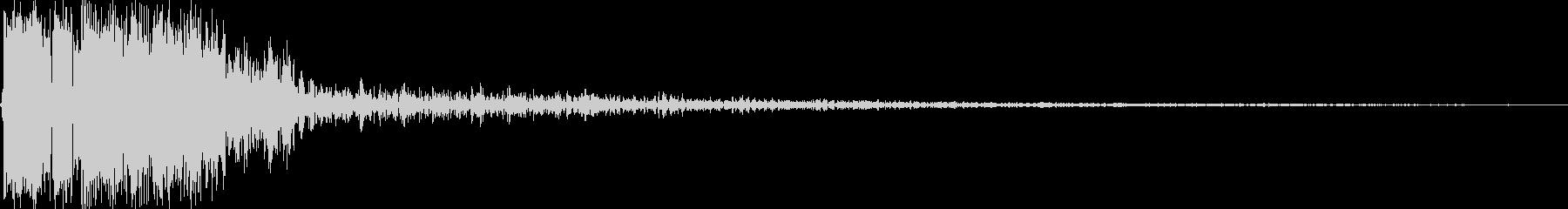 【YouTube】効果音_06 ピシッの未再生の波形