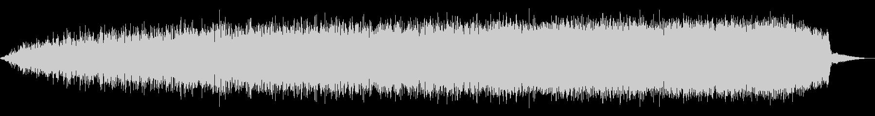 ライジングWINDY WHOOSHの未再生の波形