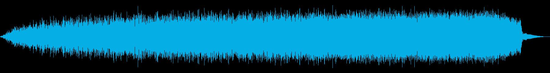 ライジングWINDY WHOOSHの再生済みの波形