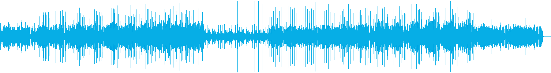 メロウで優しいR&BのBGMの再生済みの波形