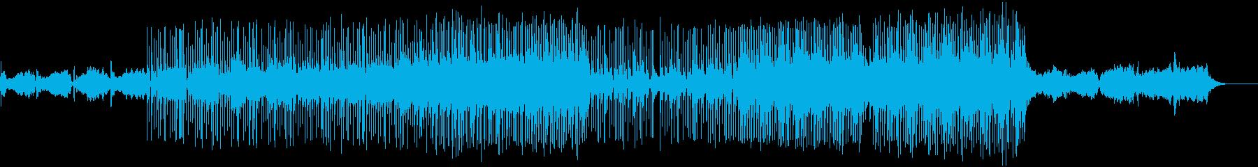 加速する素粒子、ミクロな世界のナノビートの再生済みの波形
