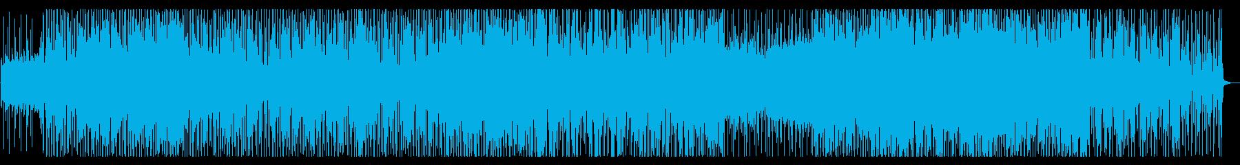 アクティブな気持ちに合うサウンドの再生済みの波形