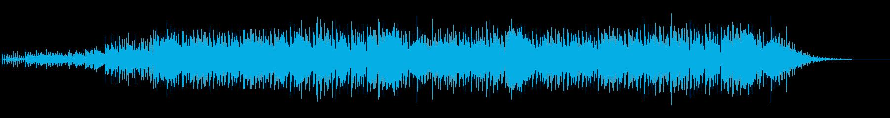 ロックでクラシックなEDMの再生済みの波形