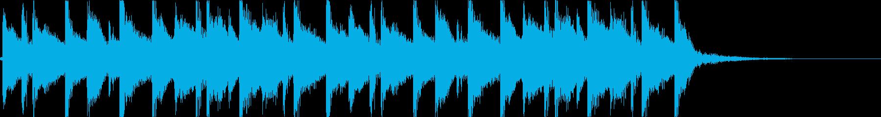 おしゃれ・幻想的・切ないEDMジングルの再生済みの波形