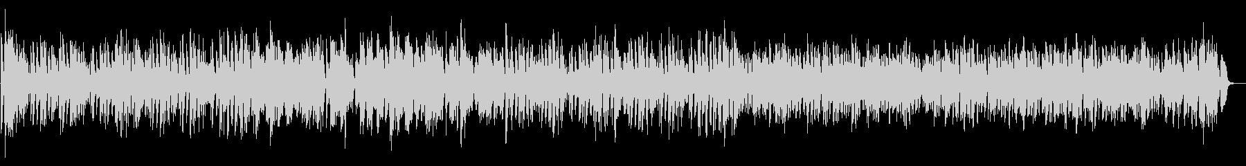 ボギー大佐 木琴とピアノ ホールの未再生の波形