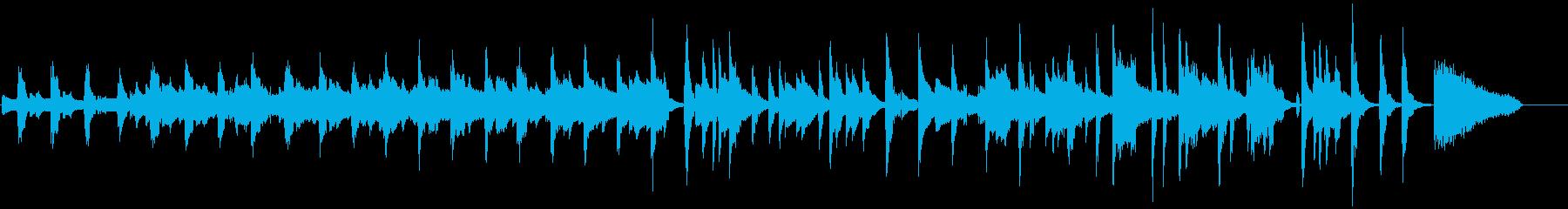 オシャレでかわいい日常BGMの再生済みの波形