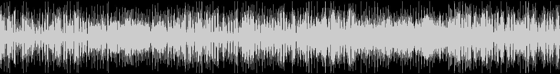 リコーダー、ほのぼの脱力ジャズ※ループ版の未再生の波形