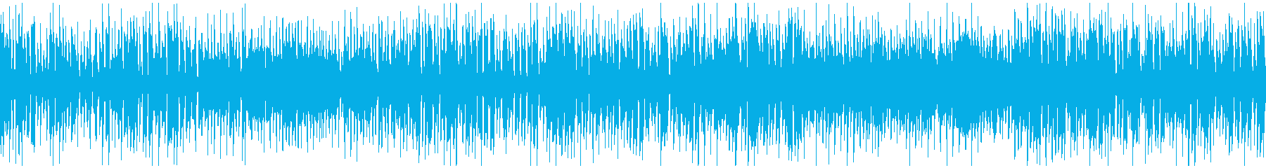 リコーダー、ほのぼの脱力ジャズ※ループ版の再生済みの波形