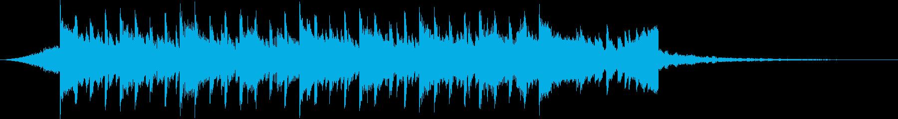 企業VP系81、シンプル、シンセ、爽快cの再生済みの波形