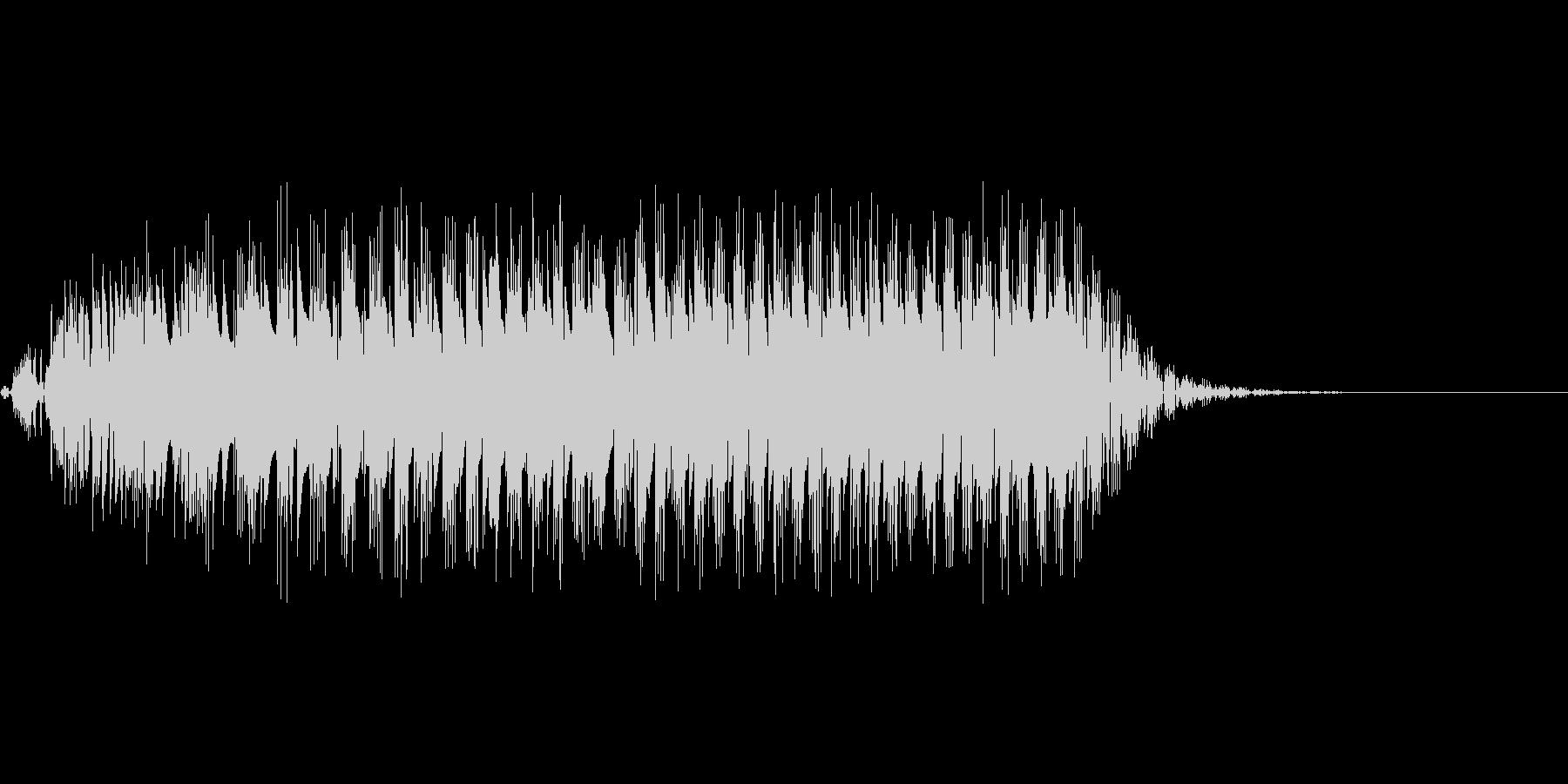 グワァ(8ビット風ガチョウの鳴き声)の未再生の波形