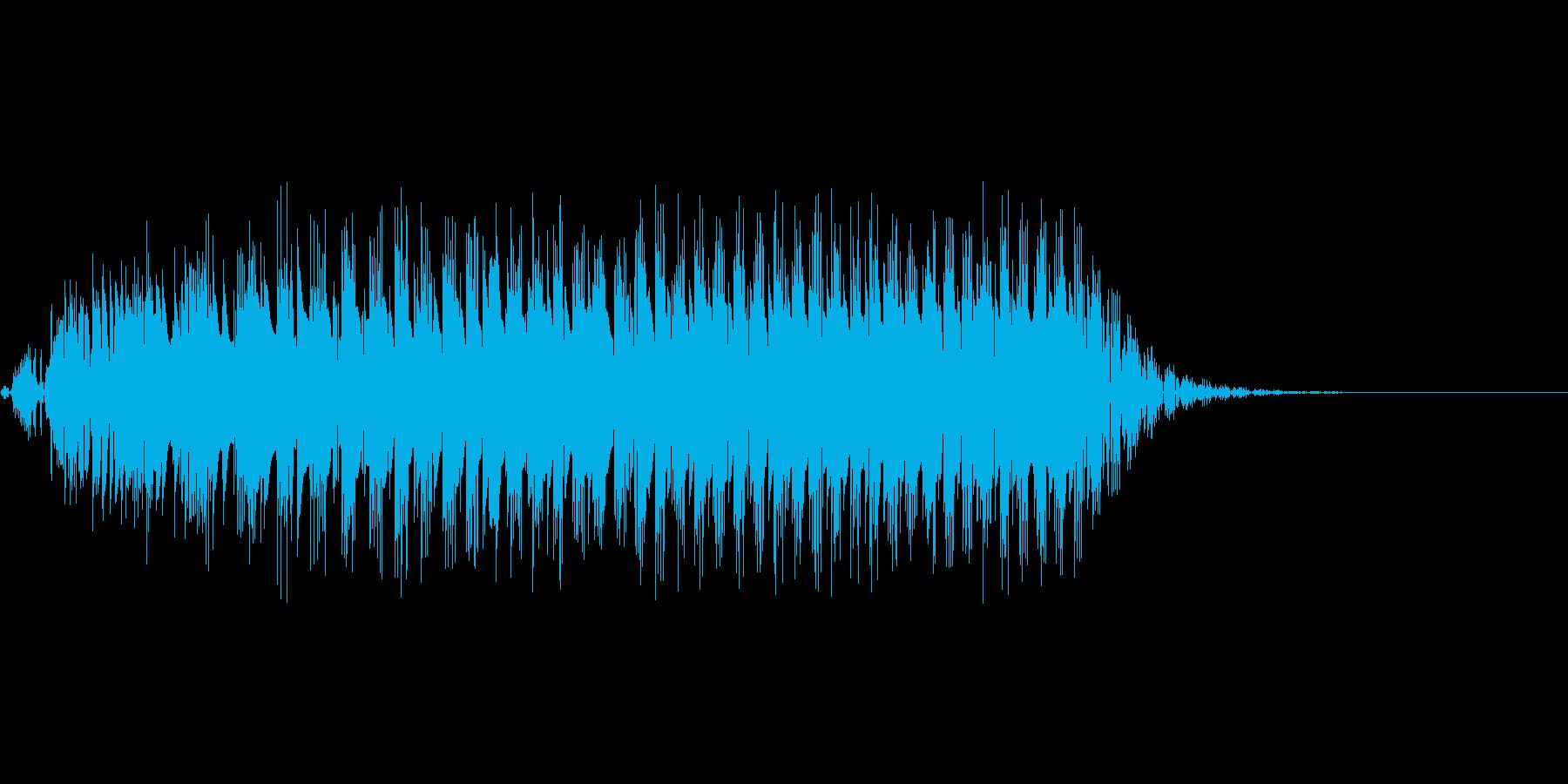 グワァ(8ビット風ガチョウの鳴き声)の再生済みの波形