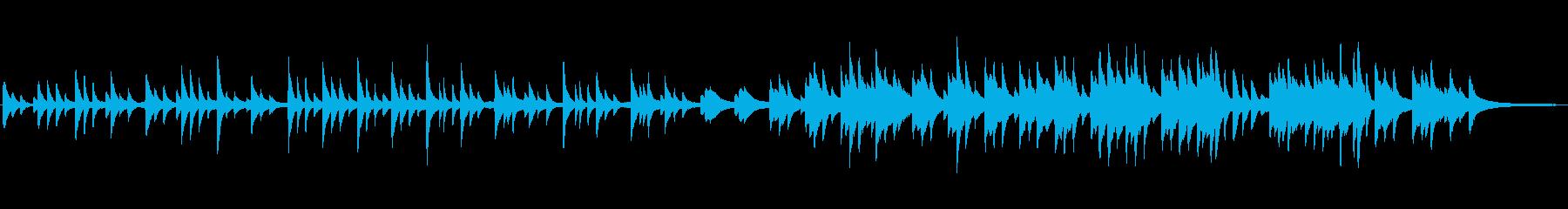 切なく穏やかなクラシックピアノの再生済みの波形