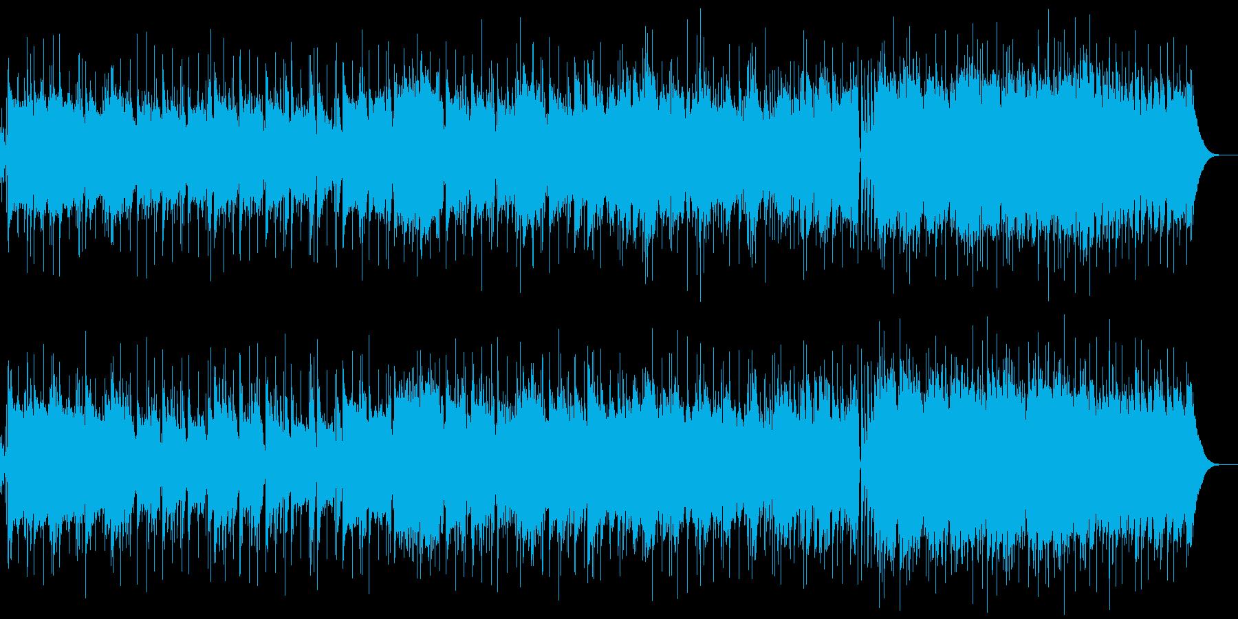 ギター生演奏アメリカンPOPSカントリーの再生済みの波形