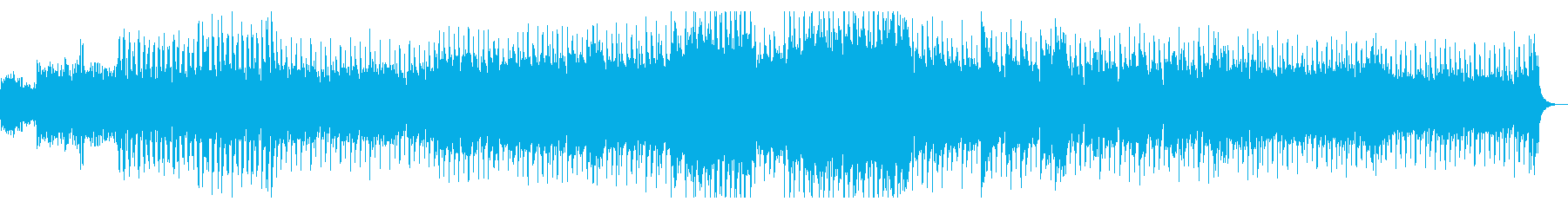 恒星間惑星間宇宙探査機をイメージした曲 の再生済みの波形