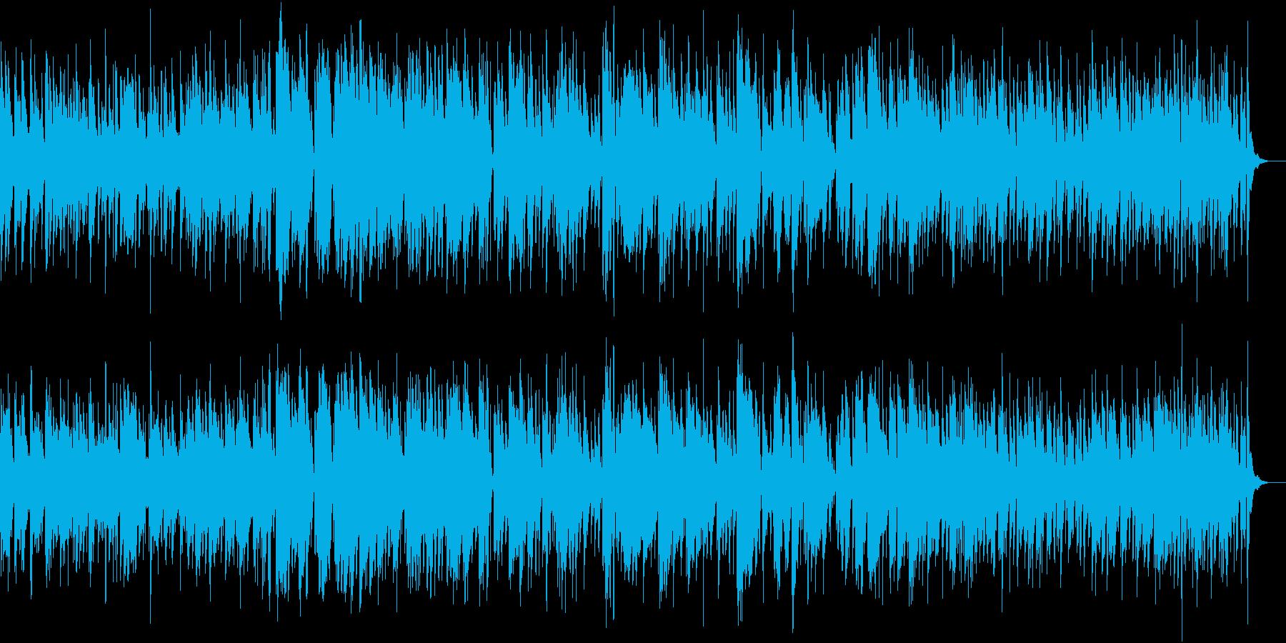生演奏・ジャズ・トランペット・店舗BGMの再生済みの波形