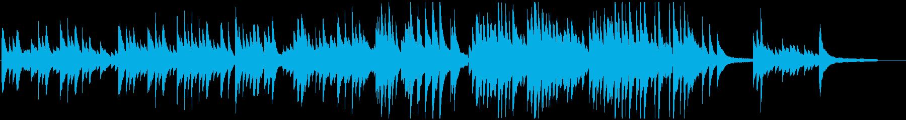 【ピアノソロ】ウエディング・思い出・感動の再生済みの波形