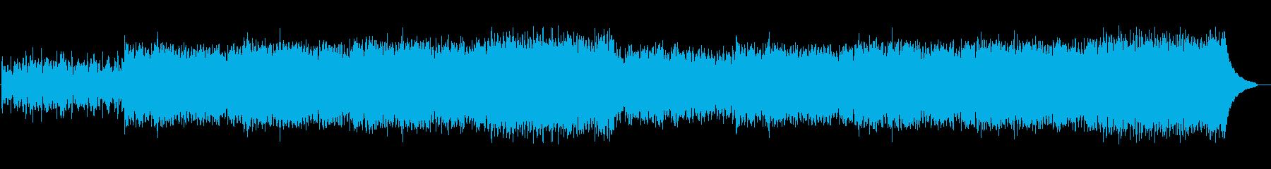 企業VP映像、128オーケストラ、感動aの再生済みの波形