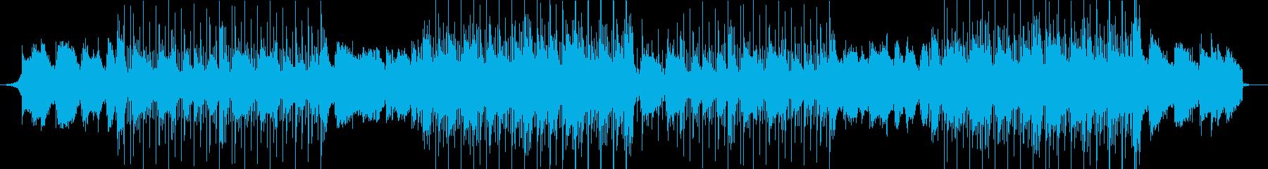 洋楽、チルアウト濃厚R&Bビートの再生済みの波形