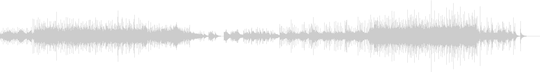 琴を使用した和風でドラマチックなBGMの未再生の波形