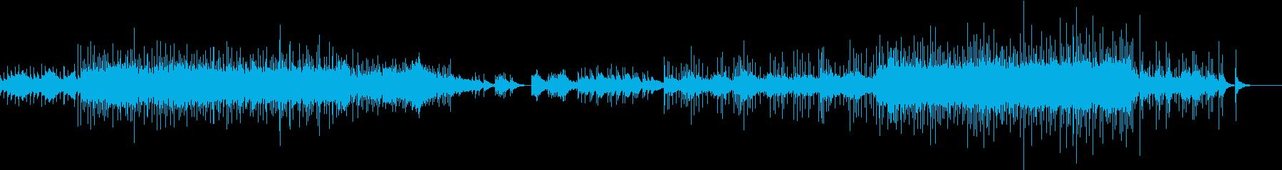 琴を使用した和風でドラマチックなBGMの再生済みの波形
