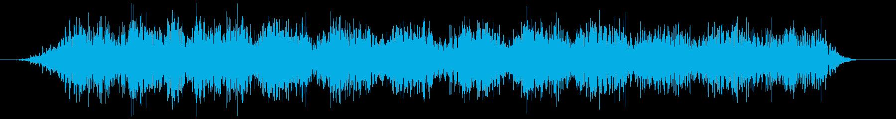 電気ポット 駆動音のみ(ブォォォン)の再生済みの波形