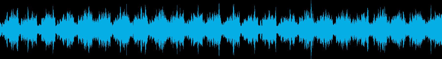 海底をイメージした神秘的な楽曲の再生済みの波形