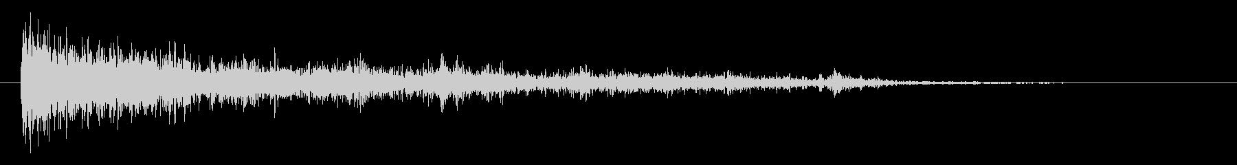 シャープSci Fi爆発の未再生の波形
