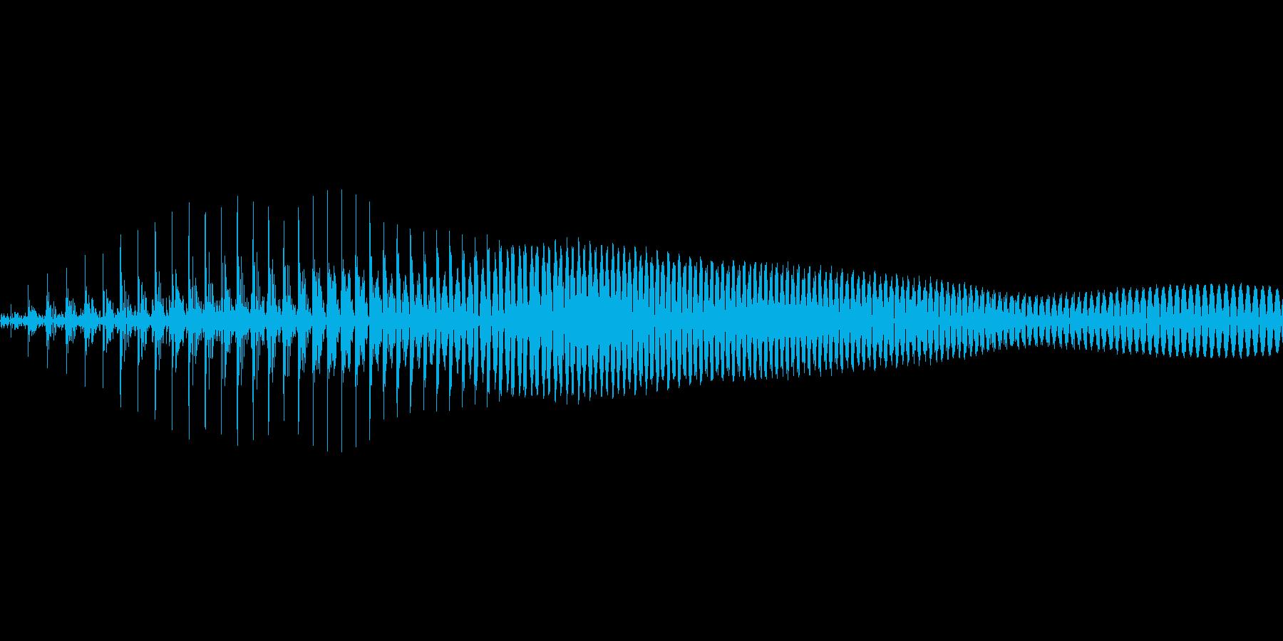 えい!【攻撃、掛け声】の再生済みの波形