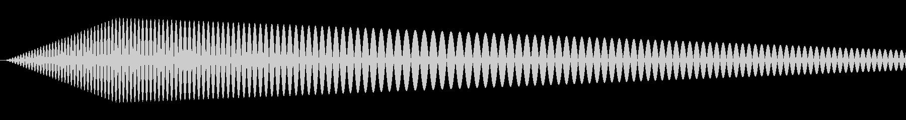 【コミカル】肉球・足音・スタンプ2の未再生の波形